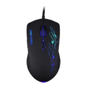 Mouse Gamer Multilaser LED, 6 Botões, 3200DPI - MO276