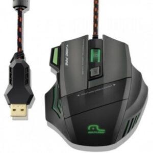 Kit Gamer Warrior - Mouse LED + Mousepad Control Pequeno - MO207
