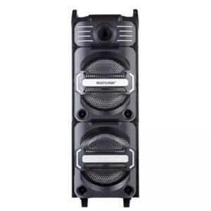 Caixa Amplificada Bluetooth 350w Dj Mixer Multilaser – Sp285