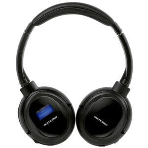 Fone de Ouvido Multilaser PH095 com Bluetooth, Microfone, Entrada Micro SD e Rádio FM