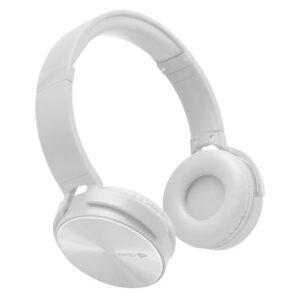 Fone de Ouvido Headphone C/ Microfone Dobrável Branco PH-110WH C3TECH