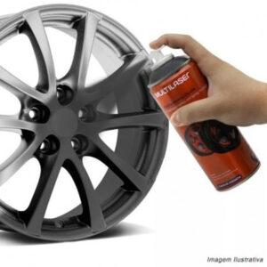 Spray de Envelopamento Multilaser Liquido Preto Fosco 400ml - AU420