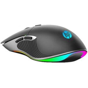 Mouse Gamer HP USB M280, 6400 DPI, LED RGB, 6 Botões Programáveis, Black