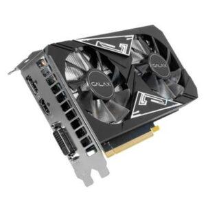 Placa de Vídeo Galax NVIDIA GeForce GTX 1650 EX Plus (1-Click OC) 4GB GDDR6 - 65SQL8DS93E1