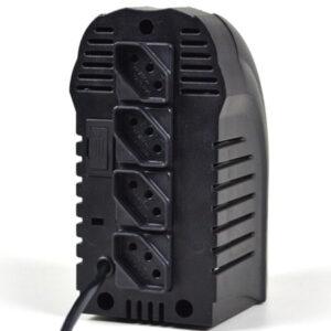 Estabilizador bivolt Powerest 500va 4 tomadas preto 9016 Ts Shara