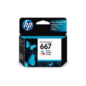 Cartucho Original HP 667 3YM78AL Color