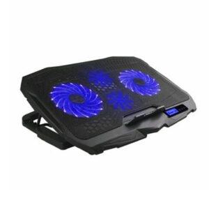 Base Cooler para Notebook Ingvar Gamer com LED Azul e 4 Ventoinhas Warrior - AC332