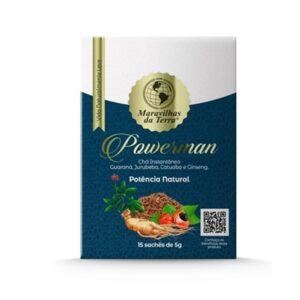 Chá Do Amor - Estimulante Masculino - Powerman Mdt
