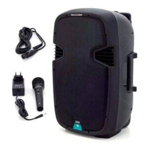Caixa De Som 300W karaokê Portátil Amplificadora Bluetooth Multilaser – SP220
