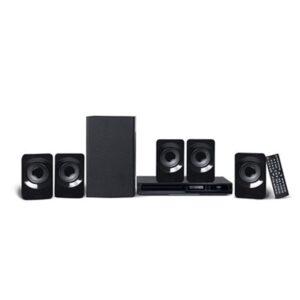 Caixa de som Home Theater 5.1 Canais Com Dvd Multilaser 320w - SP268