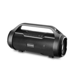 Super Bazooka Multilaser, foi desenvolvida com tecnologia TWS, para que você conecte duas caixas de som Bazooka Multilaser sem qualquer tipo de fio para aumentar a potência sonora no ambiente e animar sua festa. Devido ao seu Bluetooth 5.0 conecte seu smartphone ou tablet e ouça suas músicas direto da caixa de som sem interferências. Possui conexões BT/AUX/USB/MICRO SD/FM/TWS. Ela tem 1 ano de garantia e nota fiscal.