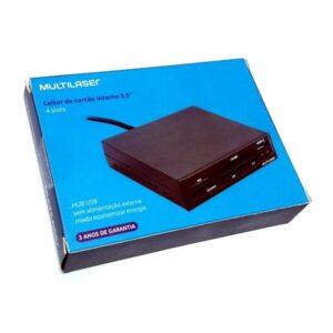 Leitor de Cartão INTERNO 30 em 1 USB 2.0 Multilaser AC069