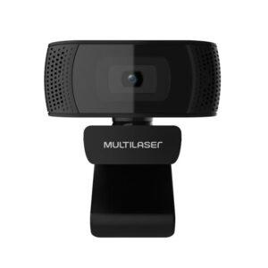 Webcam com Mic Usb Plugeplay, 1080p 30FPS Preto 4k Photos - WC050