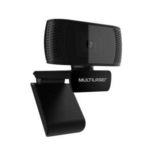 Webcam Mic Usb Plugeplay, 1080p 30FPS, Preto 4k Photos - WC050