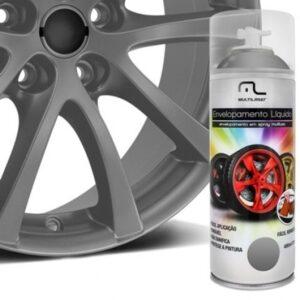 Spray de Envelopamento Multilaser Liquido Grafite 400ml - AU429