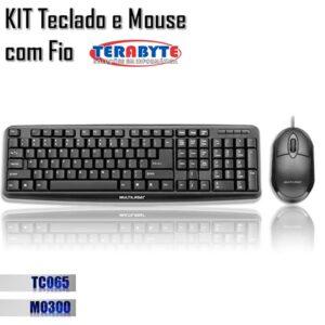 kit teclado e mouse tc065 e mo300