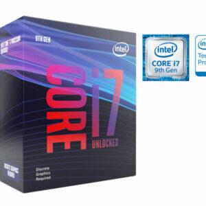 Processador Core I7 Lga 1151 Processador Bx80684i79700kf Octa Core I7-9700kf 3.6ghz 12m Cache 9ger S/cooler