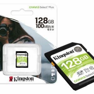 Cartão De Memória Classe 10 Sds2-128gb Sdxc 128gb 100r-85w Uhs-i Canvas Select Plus