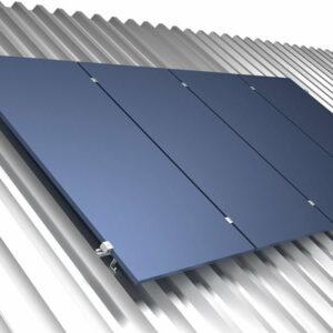 Estrutura Solar Fotovoltaico 411844 Rs-225 4 Paineis Fixador z Telha Ondulada