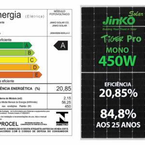 Painel Solar Fotovoltaico 450w Tiger Pro Mono Efic 120 Cel