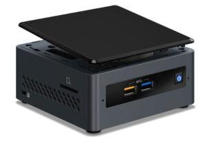 Computador Nuc Intel Nucj40054120 Dual Core J4005 4gb Ddr4 Ssd 120gb Wifi Linux