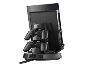 Dock Station Giratoria Playstation Ps3 Dock Station Gdp3200 Suporte Console+carregador 2controles 2xusb Bivolt