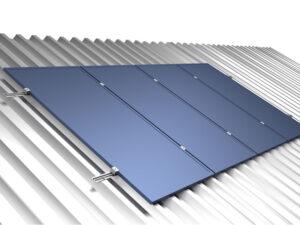Gerador De Energia Solar Growatt Metalica Perfil 55cm Romagnole Growatt Gf 23,4kwp Jinko Tiger Pro Mono 450w Mid 25kw 2m