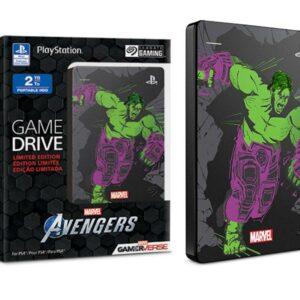 Hdd Externo Portátil 2TB Usb 3.0 2hjaa7-570 Stgd2000105 Ps4 Avengers Hulk