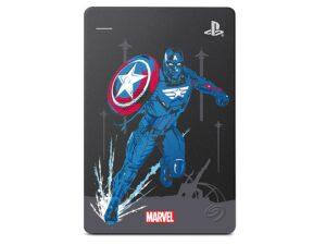 Hdd Externo Portatil 2TB Usb 3.0 2hjaa9-570 Stgd2000107 Avengers Ca P. America