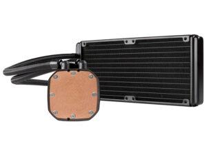 Hydro Cooling Cooler Cw-9060040-ww H100x Radiador Dual 240mm