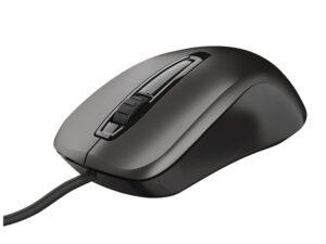 Mouse Com Fio 23733 Carve Optico Preto 1200 Dpi Usb
