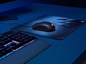 Mouse Gamer Ch-9308011-na M55 Rgb Pro 12400 Dpi Optico Laser Preto