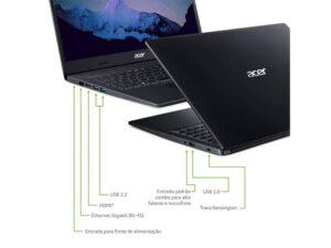 Notebook A315-23-r6dj Amd Ryzen 3-3250u Dual Core 3,50ghz 8gb 1tb 15.6